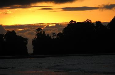 Nuqui zonsondergang