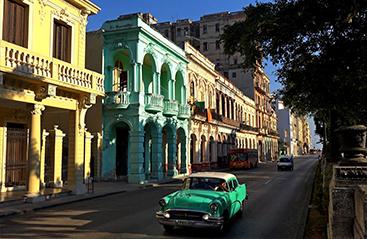Bestemmingen Cuba