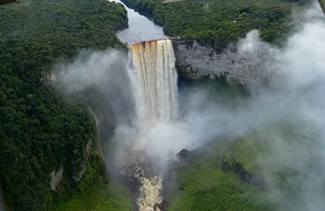 Bestemmingen Guyana - Bestemmingen
