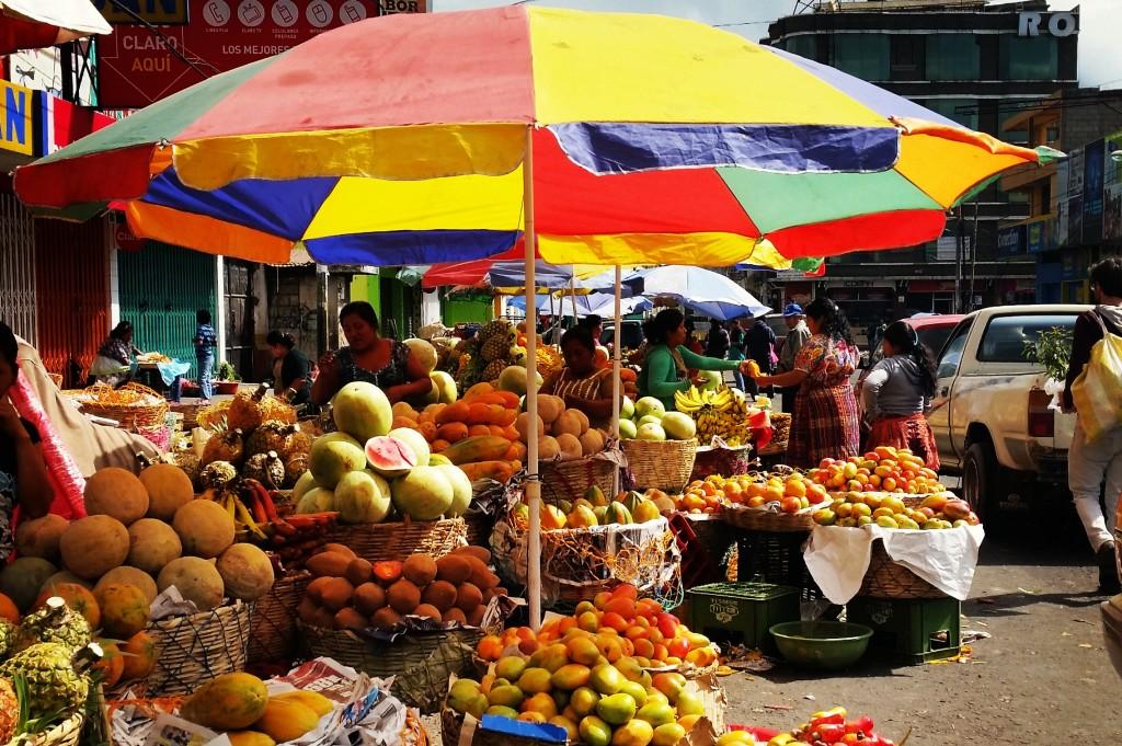 Ontdek authentiek Guatemala Xela market