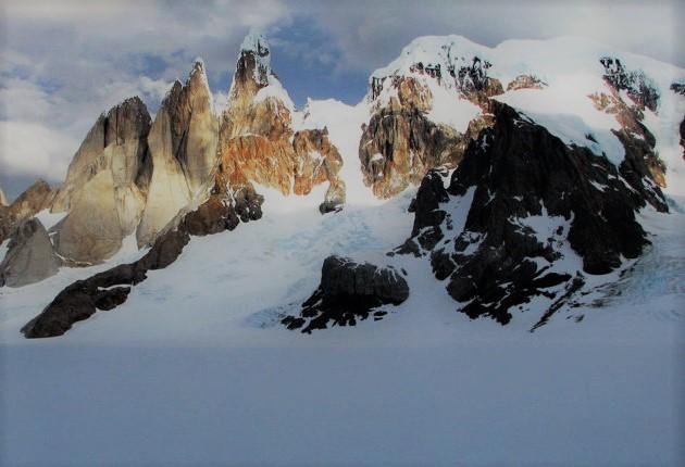 bergen met sneeuw